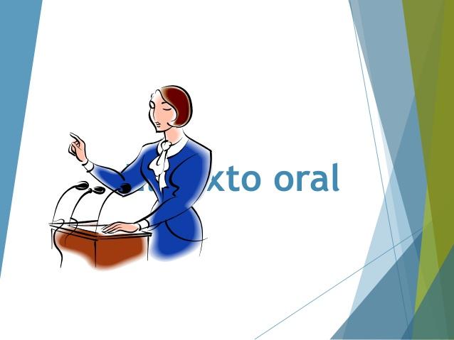 texto oral